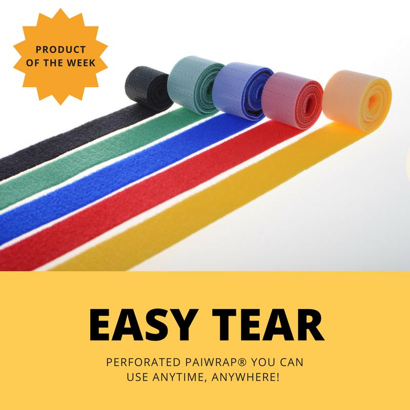 Paiwrap Easy Tear fastener