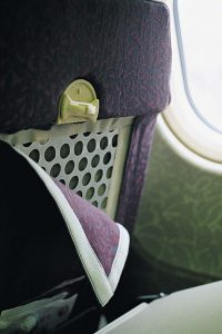 Hook and Loop Aircraft Seating