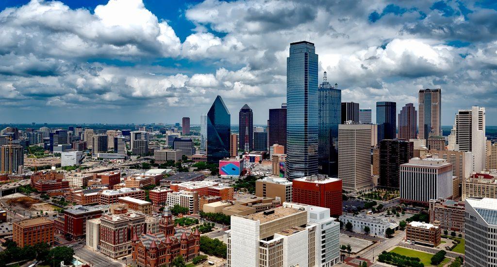Dallas Skyline View